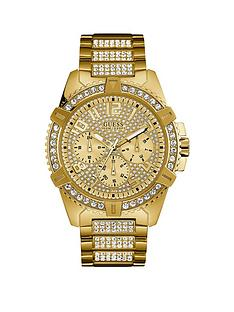 guess-guess-frontier-gold-crystal-set-multi-dial-gold-crystal-set-stainless-steel-bracelet-mens-watch
