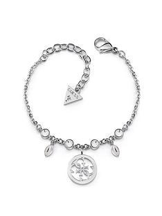 guess-guess-tropical-sun-silver-logo-charm-ladies-bracelet