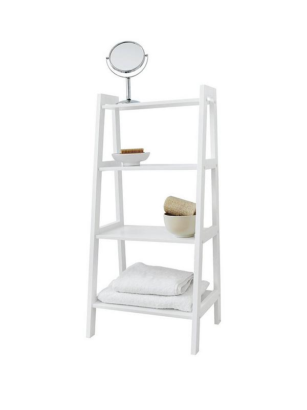 Portland 4 Tier Bathroom Shelving Unit