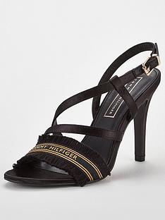 tommy-hilfiger-satin-heeled-sandals-black