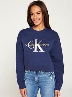 calvin-klein-jeans-boyfriend-metallic-logo-sweatshirt-blue