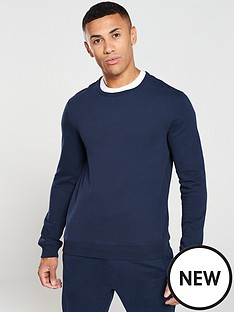 v-by-very-essentials-crew-neck-sweater-navy