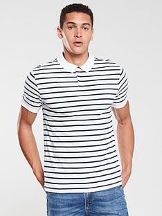v-by-very-yarndyed-stripe-jersey-polo-white