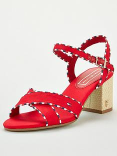 tommy-hilfiger-corporate-detail-heeled-sandals-red