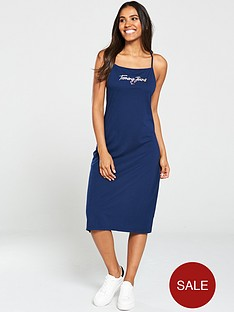 tommy-jeans-summer-logo-strap-dress-navy