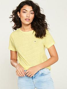 tommy-jeans-summer-essential-t-shirt-yellow