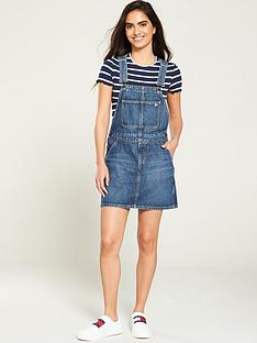 tommy-jeans-dungaree-dress-mid-blue
