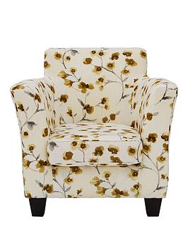 nancy-fabric-floral-accent-chair