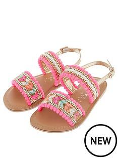 accessorize-girls-santorini-beaded-pom-sandal