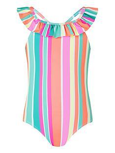 monsoon-girls-sibelnbspstripe-swimsuit-multi