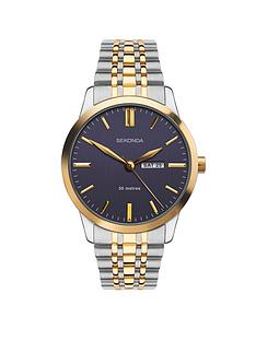 sekonda-sekonda-blue-and-gold-detail-daydate-dial-two-tone-stainless-steel-bracelet-mens-watch