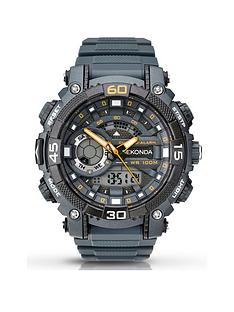 sekonda-sekonda-grey-and-orange-detail-chronograph-and-digital-dial-grey-silicone-strap-mens-watch