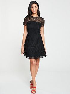 v-by-very-lace-skater-dress-black