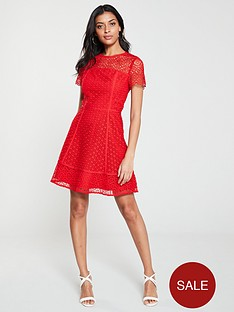 v-by-very-lace-skater-dress-red