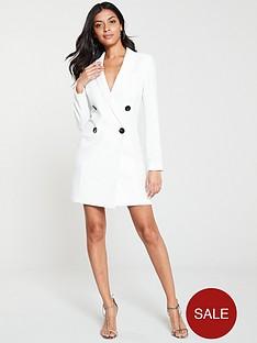 v-by-very-mono-tuxe-dress-ivory