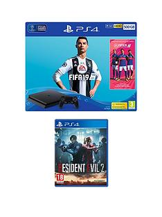 playstation-4-fifa-19-ps4-500gb-bundle-with-resident-evil-2-with-optional-extras