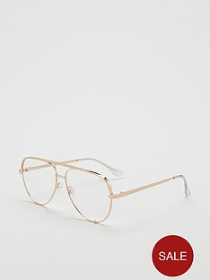 quay-australia-high-key-blue-light-mini-aviator-glasses-gold
