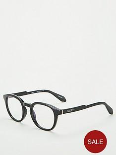 quay-australia-walk-on-blue-light-round-glasses-black