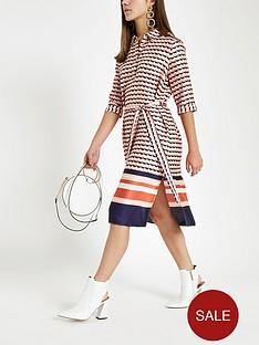 ri-petite-ri-petite-geo-print-belted-shirt-dress--geo-print