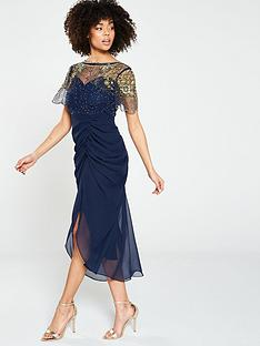 virgos-lounge-embellished-ruched-midi-dress-navy