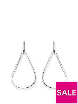 thomas-sabo-thomas-sabo-sterling-silver-heritage-drop-hoop-earrings