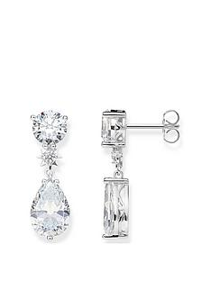 thomas-sabo-thomas-sabo-sterling-silver-cubic-zirconia-drop-earrings