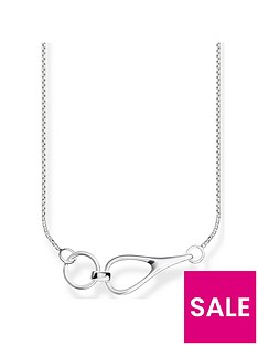 thomas-sabo-thomas-sabo-sterling-silver-heritage-link-necklace