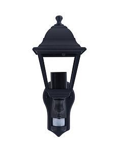 luceco-4-panel-die-cast-coach-lantern-e27-lampholder-black-ip44-pir