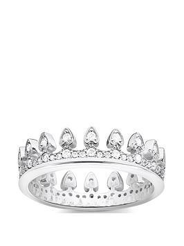 thomas-sabo-thomas-sabo-sterling-silver-cubic-zirconia-crown-ring