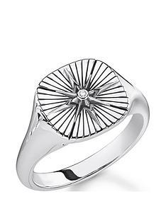 thomas-sabo-thomas-sabo-sterling-silver-vintage-star-signet-ring-unisex