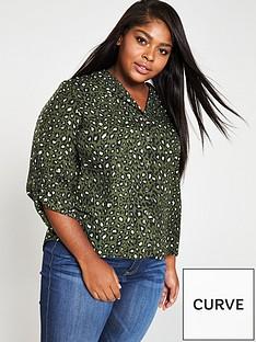 v-by-very-animal-print-blouse