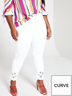v-by-very-curve-cutwork-hem-skinny-jean-white
