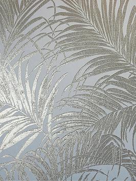 arthouse-kiss-foil-palm-cream-gold-wallpaper