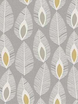 arthouse-glam-feather-grey-wallpaper