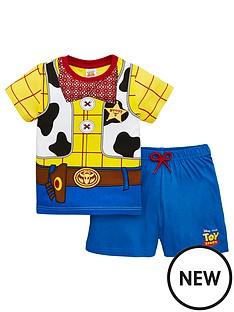 toy-story-boys-sheriffnbspwoody-shortynbsppyjamas-multi