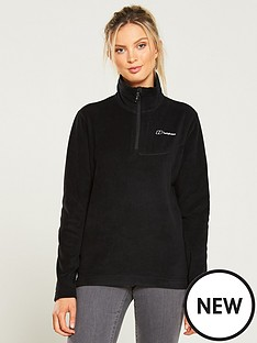berghaus-prism-micro-14-zip-fleece-jacket-black