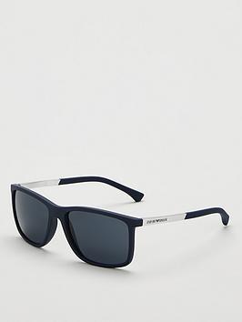 emporio-armani-rectangular-framenbspsunglasses-black