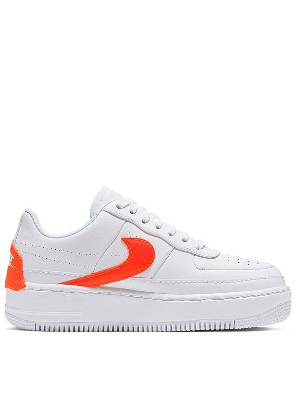 check out 9a3a1 0e579 Air Force 1 Jester - White/Orange