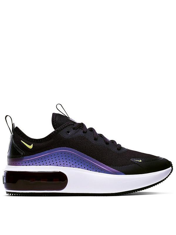 venta minorista elegante en estilo estilo exquisito Nike Air Max Dia - Black/White/Purple | littlewoodsireland.ie