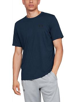 under-armour-sportstyle-left-chest-short-sleeve-t-shirt-navy