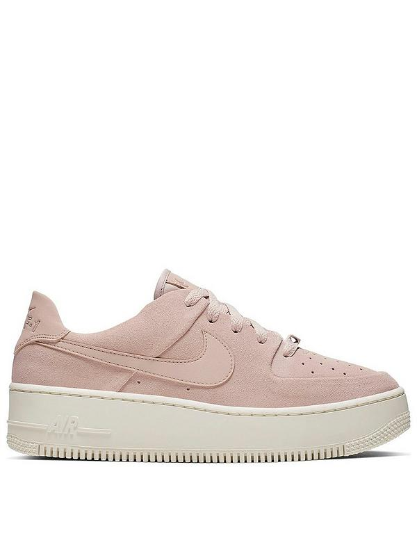 brand new dab3b 8445a Air Force 1 Sage Low - Pink/White