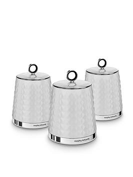 morphy-richards-dimensions-set-of-three-storage-canisters-ndash-white