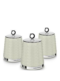 morphy-richards-dimensions-set-of-three-storage-canisters-ndash-ivory-cream