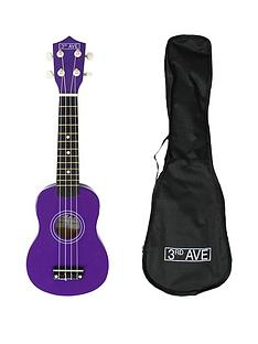 3rd-avenue-soprano-ukulele-purple