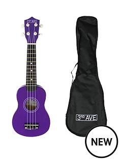 3rd-avenue-soprano-ukulele-purple