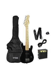 3rd-avenue-3rd-avenue-junior-electric-guitar-pack-black-with-free-online-music-lessons