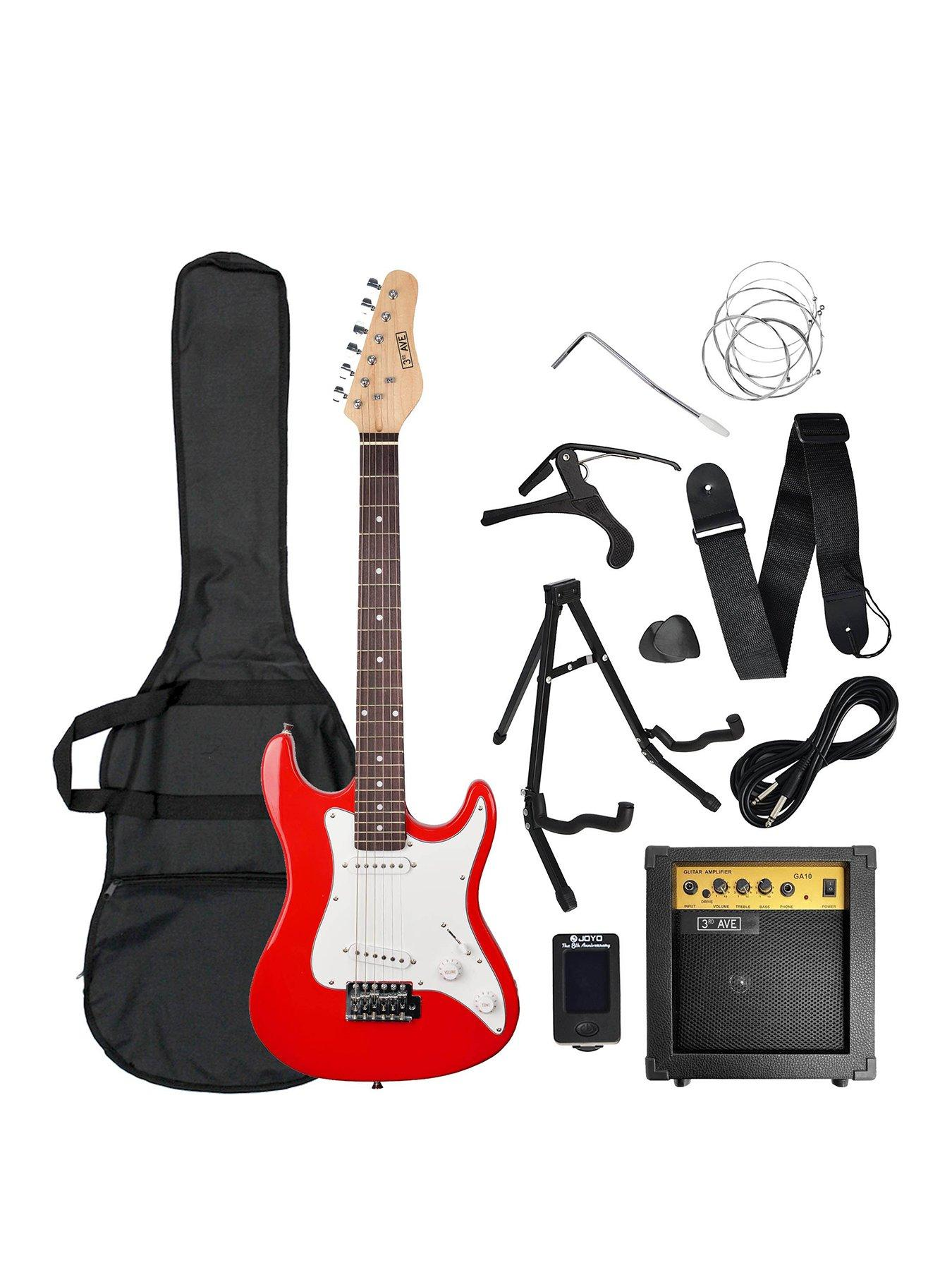 Music Collection 6 Instruments guitar sax horn mic music boombox NEW LEGO
