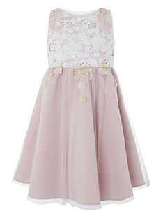 ab328035c63 Monsoon Girls Sakura Blossom Dress - Pink