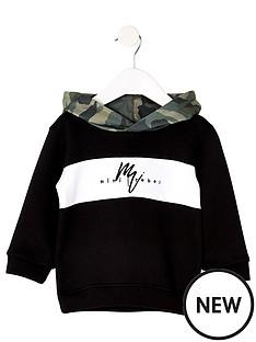 river-island-mini-mini-boys-camo-hoodie-black