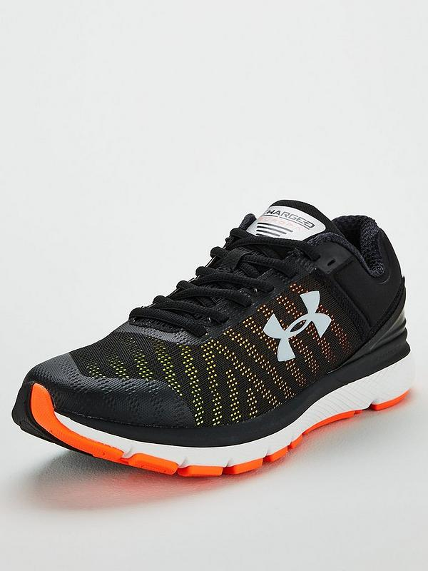 Men/'s Under Armour Charged Europa 2 Running Shoes Black  Choose Your Size